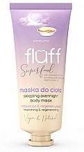 Parfémy, Parfumerie, kosmetika Tělová maska - Fluff Superfood Kombucha Sleeping Overnight Body Mask