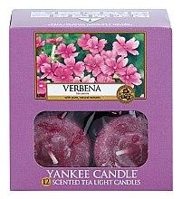 Čajové svíčky - Yankee Candle Scented Tea Light Candles Verbena — foto N3