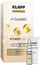 Parfémy, Parfumerie, kosmetika Sada Vitamín A - Klapp A Classic Power Set (conc/3x2ml + cr/3ml)