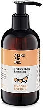 Parfémy, Parfumerie, kosmetika Mýdlo na ruce - Make Me Bio Orange Energy Soap