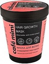 """Parfémy, Parfumerie, kosmetika Maska na vlasy """"Stimuluje růst vlasů"""" - Cafe Mimi Mask"""