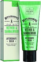 Parfémy, Parfumerie, kosmetika Balzám po holení Vetiver a santalové dřevo - Scottish Fine Soaps Vetiver Sandalwood Aftershave Balm