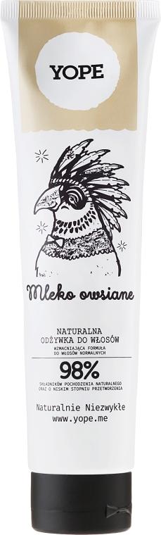 Přírodní kondicionér pro normální vlasy s ovesným mlékem - Yope
