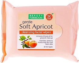 Parfémy, Parfumerie, kosmetika Čistící ubrousky na obličej - Beauty Formulas Gentle Soft Apricot Cleansing Facial Wipes