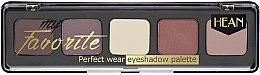 Parfémy, Parfumerie, kosmetika Paleta očních stínů - Hean My favorite Eye Shadow Palette