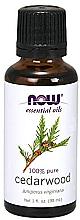 Parfémy, Parfumerie, kosmetika Esenciální olej Cedr - Now Foods Essential Oils 100% Pure Cedarwood