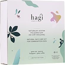 Parfémy, Parfumerie, kosmetika Sada - Hagi Natural Face Care Set (cr/30ml + ser/30ml)
