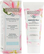 Parfémy, Parfumerie, kosmetika Krém exfoliant na obličej s extraktem z lilie pro normální a kombinovanou pleť - Coslys Facial Care Exfoliating Facial CreamWith Lily Extract