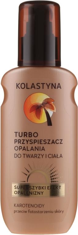 Urychlovač opálení - Kolastyna Suncare Turbo