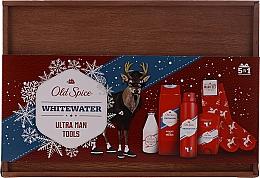 Parfémy, Parfumerie, kosmetika Sada - Old Spice Whitewater Wooden (deo/50g + sh/gel/250ml + ash/lot/100ml + deo/spray/150ml)