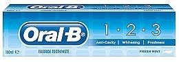 Parfémy, Parfumerie, kosmetika Zubní pasta - Oral B 1-2-3 Fresh Mint Toothpaste