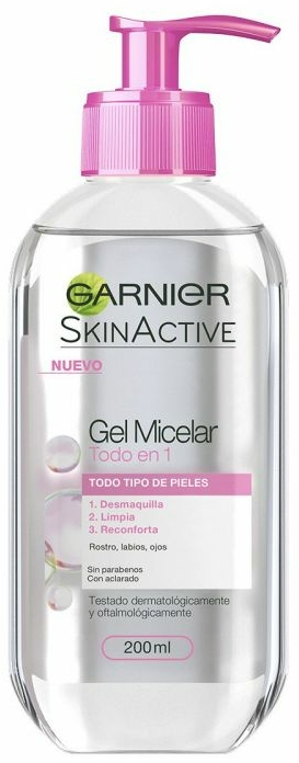 Micelární gel pro všechny typy pleti - Garnier Skin Active Micellar Gel — foto N1