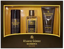 Parfémy, Parfumerie, kosmetika Alvarez Gomez Agua De Colonia Concentrada Barberia - Sada (edc/150ml + deo/150ml + sh/gel/230ml)