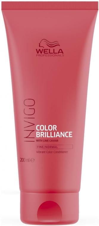 Kondicionér pro normální barvené vlasy - Wella Professionals Invigo Color Brilliance Conditioner