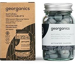 """Parfémy, Parfumerie, kosmetika Tablety pro čištění zubů """"Aktivní uhlí"""" - Georganics Natural Toothtablets Activated Charcoal"""