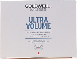 Parfémy, Parfumerie, kosmetika Intenzivní sérum pro objem - Goldwell Dualsenses Ultra Volume Intensive