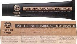 Parfémy, Parfumerie, kosmetika Přírodní, bělicí zubní pasta - Mohani Smile Whitening Charcoal Toothpaste