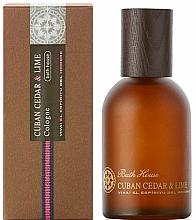 Parfémy, Parfumerie, kosmetika Bath House Cuban Cedar & Lime - Kolínská voda