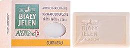 Parfémy, Parfumerie, kosmetika Bílé jílové dermatologické mýdlo - Bialy Jelen Apteka Alergika Soap
