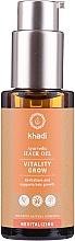 Parfémy, Parfumerie, kosmetika Regenerační olej na vlasy - Khadi Ayurvedic Vitality Grow Hair Oil