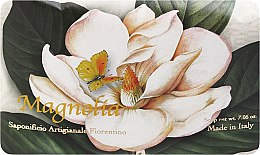 Parfémy, Parfumerie, kosmetika Toaletní mýdlo Magnolia - Saponificio Artigianale Fiorentino Magnolia
