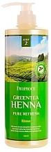 Parfémy, Parfumerie, kosmetika Vlasový kondicionér - Deoproce Green Tea Henna Pure Refresh Rinse