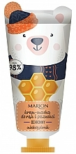 Parfémy, Parfumerie, kosmetika Ochranný krém maska na ruce a nehty - Marion Funny Animals Hand Cream Mask