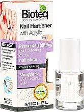 Parfémy, Parfumerie, kosmetika Posilovač nehtů s akrylem - Bioteq Nail Hardener With Acrylic
