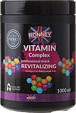 Parfémy, Parfumerie, kosmetika Maska na vlasy - Ronney Vitamin Complex Revitalizing Therapy Mask