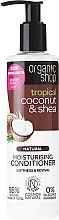 """Parfémy, Parfumerie, kosmetika Balzám na vlasy """"Kokosové a bambucké máslo"""" - Organic Shop Coconut And Shea Conditioner"""