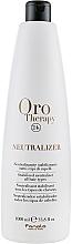 Parfémy, Parfumerie, kosmetika Neutralizér a stabilizátor pro trvalou ondulaci - Fanola Oro Therapy Neutralizer
