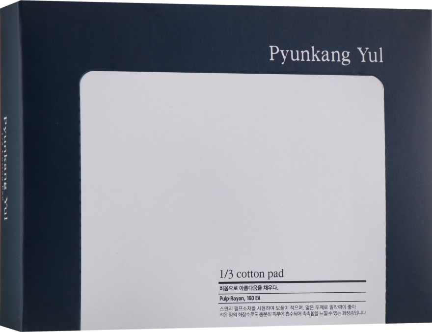 Vatové tampony - Pyunkang Yul 1/3 Cotton Pad
