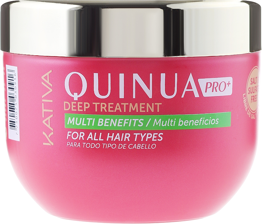 Maska pro intenzivní péči o barevné vlasy - Kativa Quinua PRO Deep Treatment — foto N3