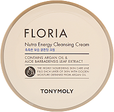 Parfémy, Parfumerie, kosmetika Čisticí krém - Tony Moly Floria Nutra-Energy Cleansing Cream