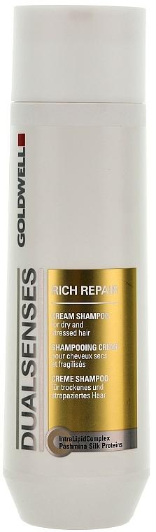 Obnovující šampon pro slabé a poškozené vlasy - Goldwell Dualsenses Rich Repair Cream Shampoo