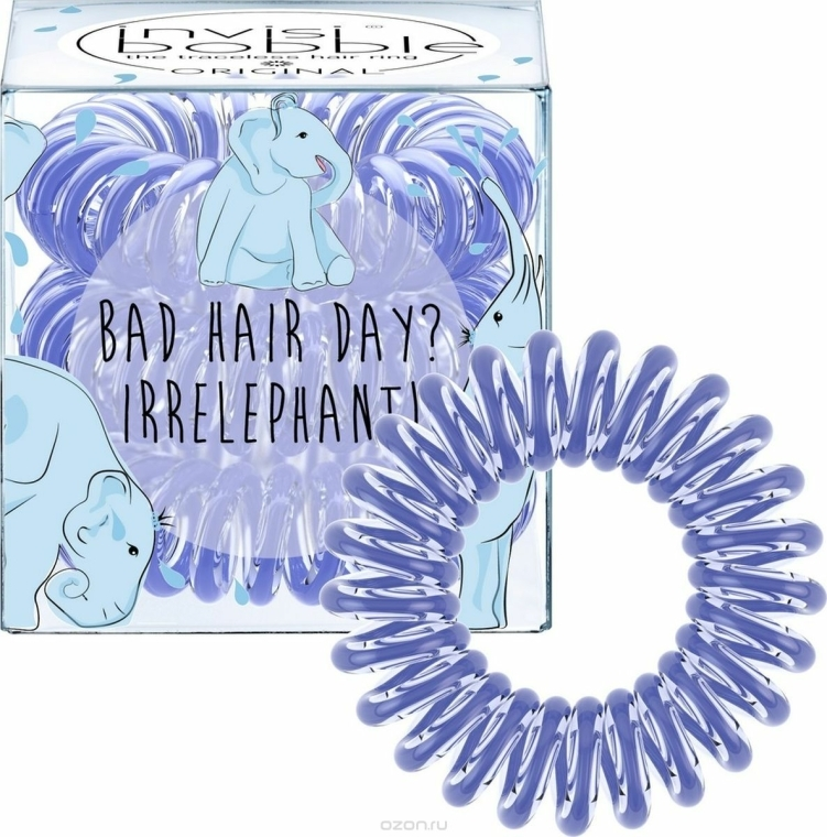 Gumička do vlasů - Invisibobble Bad Hair Day? Irrelephant! — foto N2