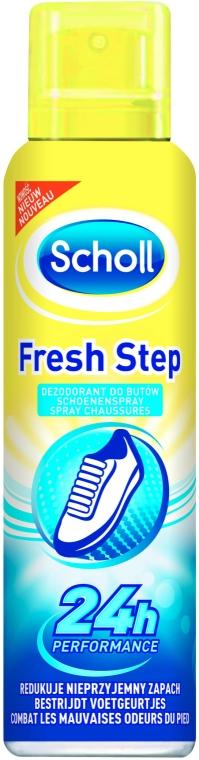 Deodorant na boty - Scholl Fresh Step Shoe Sprey — foto N1