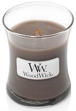 Parfémy, Parfumerie, kosmetika Aromatická svíčka ve sklenici - WoodWick Hourglass Candle Sand & Driftwood