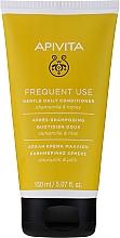 Parfémy, Parfumerie, kosmetika Kondicionér s heřmánkem a medem - Apivita Gentle Daily Conditioner For All Hair Types With Chamomile & Honey