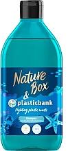 Parfémy, Parfumerie, kosmetika Zvlhčující šampon na vlasy - Nature Box Plastic Bank Shampoo