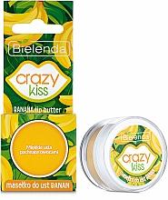 "Parfémy, Parfumerie, kosmetika Olej na rty ""Banán"" - Bielenda Crazy Kiss Banana Lip Butter"