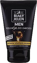Parfémy, Parfumerie, kosmetika Peeling gel na vousy - Bialy Jelen Men Peelin Gel