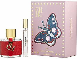 Parfémy, Parfumerie, kosmetika Carolina Herrera CH - Sada (edt/100ml + edt/mini/10ml)