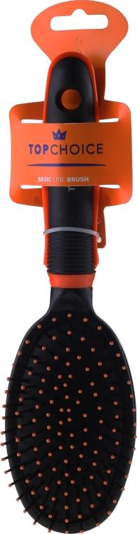 Kartáč na vlasy 2465, černý s oranžovým - Top Choice