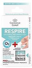 Parfémy, Parfumerie, kosmetika Báze a vrchní lak na nehty 2 v 1 - Constance Carroll Nail Care Respire Oxygen Technology