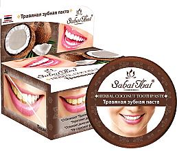 Parfémy, Parfumerie, kosmetika Zubní pasta s kokosem - Sabai Thai Herbal Coconut Toothpaste