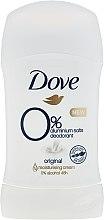 Parfémy, Parfumerie, kosmetika Deodorant-stick - Dove Original 0% Aluminium Salts Deodorant