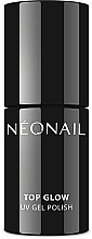 Parfémy, Parfumerie, kosmetika Vrchní lak na nehty - NeoNail Professional UV Gel Polish Top Glow Sparkling