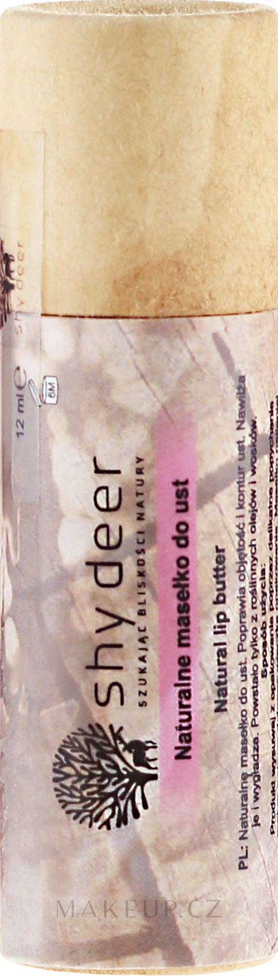 Přírodní olej na rty - Shy Deer Natural Lip Butter — foto 12 ml