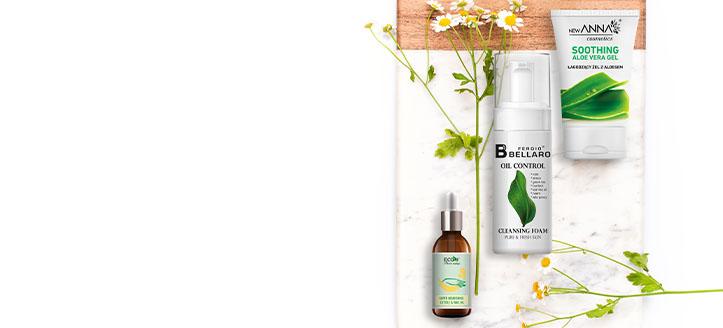 Sleva až 10% na celý sortiment  New Anna Cosmetics, Fergio Bellaro a EcoU. Ceny na webu jsou včetně slev